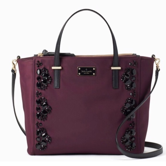 49ddd532265b6 KATE SPADE WILSON ROAD EMBELLISHED ALYSE SATCHEL